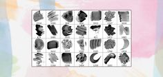 28 Free High-Res Watercolour Photoshop Brushes | Premium Pixels