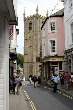 Town centre of St Ives, Cornwall. Best to get a train into St Ives as parking limited and streets narrow. St Ives Cornwall, Devon And Cornwall, Falmouth Cornwall, Yorkshire England, Yorkshire Dales, St Just, South West Coast Path, Into The West, London England
