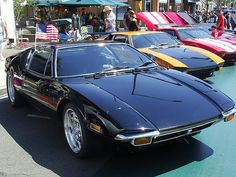 "De Tomaso Pantera much nether in the ""clean"" 1972 and earlier look (minus rubber bumpers)"