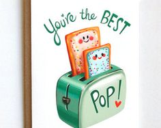 Say Thanks Mom Or Dad With This Cute Pun Greeting Card Great