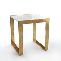 Seneca Side Table | Williams-Sonoma - I know it isn't circular, but it is so pretty and I like the weight and size. Definitely the jewelry we are after. $1,000 each