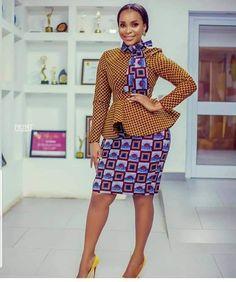 African print, Ankara Dress styles to rock in 2019 Trendy Ankara Styles, Ankara Dress Styles, African Print Dresses, African Dresses For Women, African Print Fashion, African Wear, African Attire, African Women, African Prints