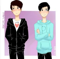 I feel like shipping phan is like my guilty pleasure. But i know that's just me.