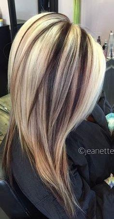 Hair Highlights And Lowlights, Hair Color Highlights, Hair Color Balayage, Gorgeous Hair Color, Beautiful Long Hair, Cool Hair Color, Hair Colors, Blonde Hair Looks, Hair Color And Cut