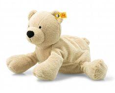 Steiff Soft Cuddly Friends Bearzy Grey Teddy With Free Steiff Box EAN 241543