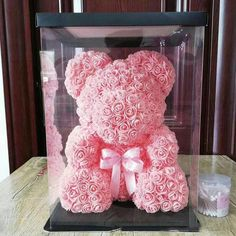 Luxury BIG LED Rose Bear With Gift Box : Best Valentine's Roman – Valentine Gifts, Gifts For Boyfriend, Gifts For Her, Gifts for Him, Gifts For Wife – bestvalentinesdaygifts. Bear Valentines, Happy Valentines Day, Gifts For Your Girlfriend, Boyfriend Gifts, Ideal Boyfriend, Homemade Gifts, Diy Gifts, Romantic Gifts For Him, Romantic Candles
