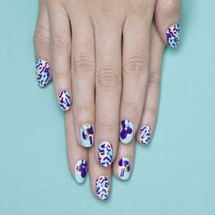 Tips: Alternez vos patchs avec vos vernis préférés et créez vos propres combinaisons!!! You can alternate your patches with your favorite nail poli...