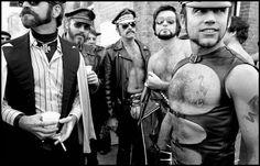 NEW ORLEANS—Mardi Gras, 1974. © Bruce Gilden / Magnum Photos
