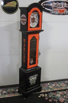 Harley-Davidson clock