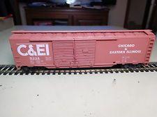 Athearn HO Scale 50' Chicago & Eastern Illinois Double Door Box Car # C&EI 5334