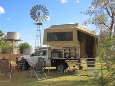 Wedgetail - Slide on camper