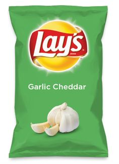 Wouldn't Garlic Cheddar be yummy as a chip? Lay's Do Us A Flavor is back, and the search is on for the yummiest flavor idea. Create a flavor, choose a chip and you could win $1 million! https://www.dousaflavor.com See Rules.