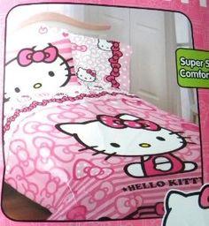 Hello Kitty Microfiber Comforter - New for 2013! $71.95