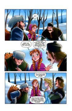 Disney Frozen comics