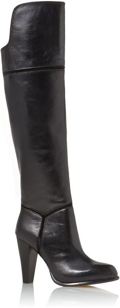 Pin for Later: The Best Over-the-Knee Boots For All Budgets  French Connection Cai heeled over-the-knee boots (£200)