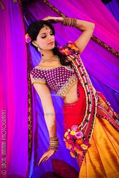 tAnirika, Floral Jewelry, Suhaag Garden, Indian Wedding