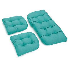 Cushions and Pads 79683: Darby Home Co® 3 Piece Outdoor Bench And Dining Chair Cushion Set -> BUY IT NOW ONLY: $81.99 on eBay!