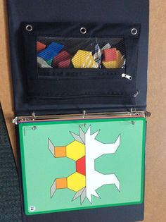 Tangram Work Task and Work Box