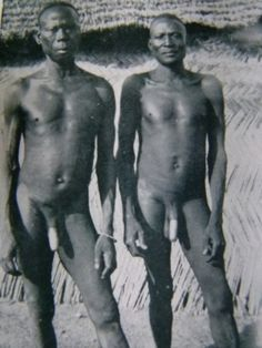 African tribe dick