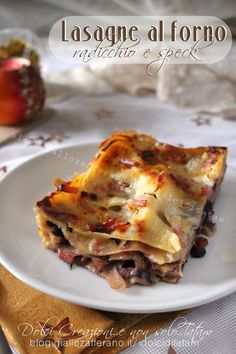 Lasagna, Christmas Time, Cooking Recipes, Cooking Ideas, Good Food, Food And Drink, Dinner, Ethnic Recipes, Dolce