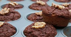 Cacao & Banana Wholemeal Spelt Muffins Recipe