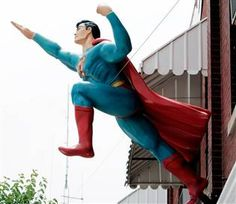 The Super Museum in Metropolis, #Illinois holds the world's largest collection of #Superman memorabilia on the planet!
