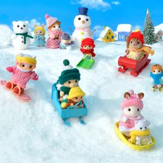 Sylvania Families, Calico Critters Families, Doll Toys, Dolls, All Things Cute, To My Daughter, Kawaii, Kids, Vaporwave