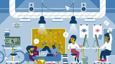 Workplaces must include spaces for work and rest to foster innovation