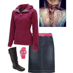 North face by modestymatterz on Polyvore