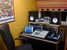 #MPC 3000 production studio