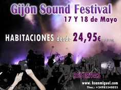 Gijón Sound Festival #promocion #gijon #musica #festivales #asturias #spain