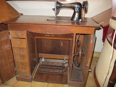 Sewing Table, Antiques, Furniture, Home Decor, Sewing Tables, Unique Furniture, Scissors, Antiquities, Antique