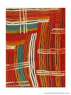 Molly Pwerle / Awelye Atnwengerrp 120cm x 90cm  2008