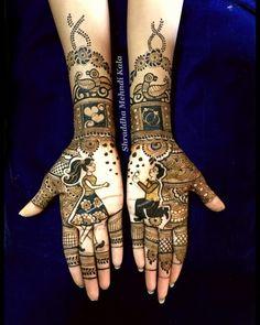 Mehndi Designs Front Hand, Floral Henna Designs, Stylish Mehndi Designs, Mehndi Design Photos, Mehndi Designs For Fingers, Beautiful Henna Designs, Best Mehndi Designs, Mehndi Images, Rangoli Designs