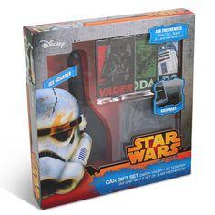 Offiziell Star Wars Eiskratzer Griff Matte & Lufterfrischer Auto Vorhanden Geschenk Set: Amazon.de: Auto