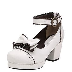 Partiss Damen Gothic High-top Boots Casual Schuhen Lolita Pumps Herbst Fruehling Rubber-Soled Lace Lolita Schuhe,CN 37,White Partiss http://www.amazon.de/dp/B01D43CVU6/ref=cm_sw_r_pi_dp_qeF.wb1MAE9N1