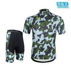 28.00$  Buy here - https://alitems.com/g/1e8d114494b01f4c715516525dc3e8/?i=5&ulp=https%3A%2F%2Fwww.aliexpress.com%2Fitem%2FARSUXEO-Mens-Cycling-Jersey-Mountain-Bike-Bicycle-Short-Sleeves-Sets-Shirts-With-3D-Padded-Shorts-Racing%2F32532600370.html - ARSUXEO Mens Cycling Jersey Mountain Bike Bicycle Short Sleeves Sets Shirts With 3D Padded Shorts Racing Suits Camouflage