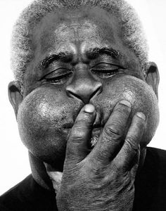 Dizzy GIllespie, photo by Herb Ritts | #Portrait / #Photography