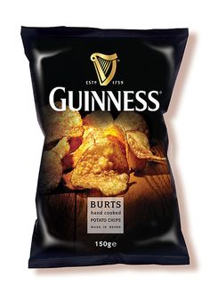 Guinness Burts Potato Chips #packaging