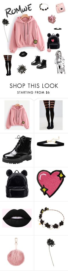 """""""chill in romwe pullover 💗"""" by friday-morning ❤ liked on Polyvore featuring Chictopia, ASOS, Stoney Clover Lane and Fujifilm"""