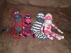 Sock monkeys tutorial