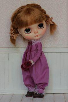 ♥ 01 salopettes pour blythe doll