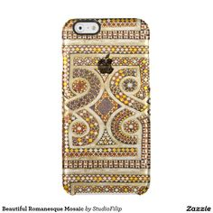 Beautiful Romanesque Mosaic Uncommon Clearly™ Deflector iPhone 6 Case