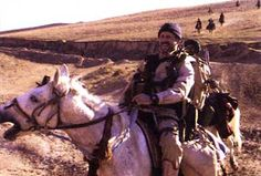Pure Badassery. CIA SAD. Charged the Taliban on horseback. Yeah you guys are in.