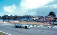 1972 Le Mans. #14 Matra-Simca MS670 driven by François Cevert & Howden Ganley finished in second place after 333 laps.