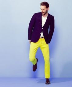 I <3 Bright Yellow Trousers, GANT BY MICHAEL BASTIAN