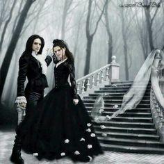 Goth Gothic couple