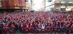 Racing With Santa At The Great Santa Run In Las Vegas: The Great Santa Run In Downtown Las Vegas