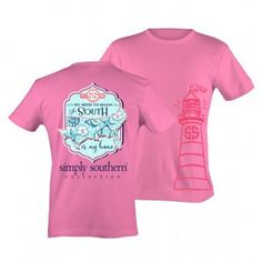 Simply Southern The South Is My Home Tee