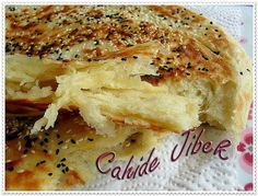 Maybe the easiest pastry to do. Practical wire dough with simple bread dough- Be… – Videolu Tarif – Nefis Yemek Tarifleri East Dessert Recipes, Desserts, Turkish Breakfast, Good Food, Yummy Food, Greek Cooking, Bread And Pastries, Easy Bread, Breakfast Items
